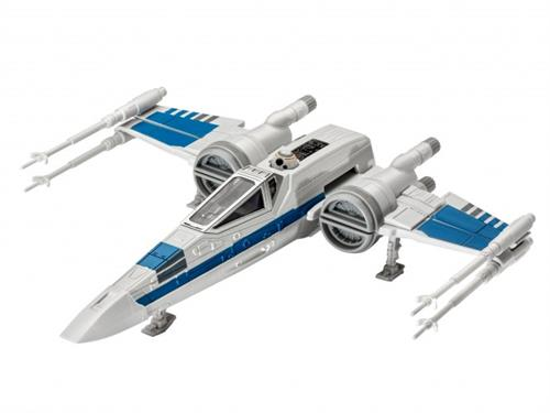 "STAR WARS Resistance X-wing Fighter m/lyd - 1:78 - ""Build  & Play model kit"" - Revell (Udsolgt fra fabrik)"