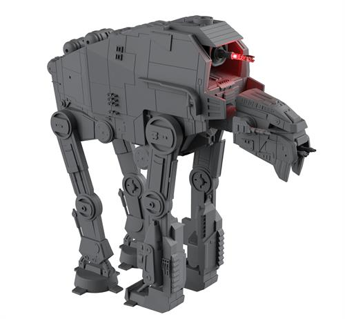 "STAR WARS First Order Heavy Assault Walker m/lys & lyd - 1:164 - ""Build  & Play model kit"" - Revell"