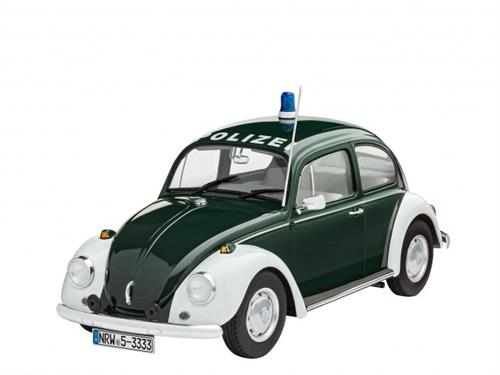 VW Beetle Police (Polizei) - 1:24 - Revell