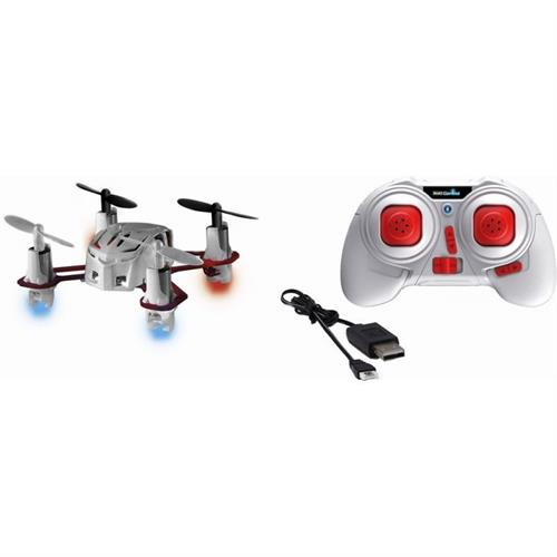 R/C Mini Quadrocopter NANO QUAD white/red (2.4 GHz) - Revell Control