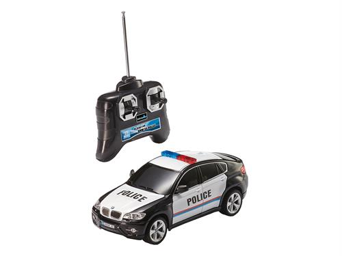 R/C BMW X6 Police - 1:24 - RTR - 27 MHz - Revell Control