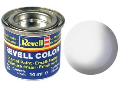 (04) - White gloss (RAL 9010) - 14 ml - Revell