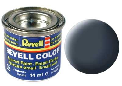 (09) - Anthracite mat (RAL 7021) - 14 ml - Revell