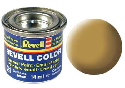 (16) - Sandy yellow mat (RAL 1024) - 14 ml - Revell
