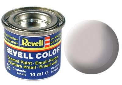 (43) - Medium grey mat - 14 ml - Revell