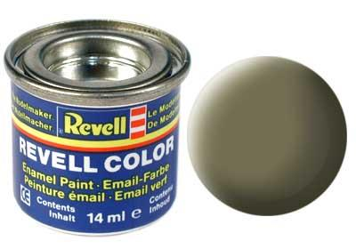 (45) - Light olive mat (RAL 7003) - 14 ml - Revell