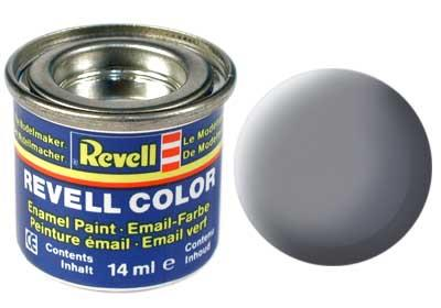(47) - Mouse grey mat (RAL 7013) - 14 ml - Revell