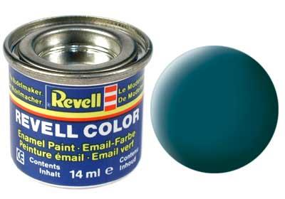 (48) - Sea green mat (RAL 6028) - 14 ml - Revell