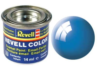 (50) - Light blue gloss (RAL 5012) - 14 ml - Revell