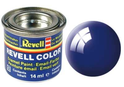 (51) - Ultramarine blue gloss (RAL 5002) - 14 ml - Revell
