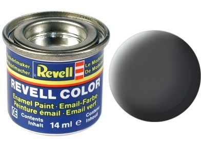 (66) - Olive grey mat (RAL 7010) - 14 ml - Revell