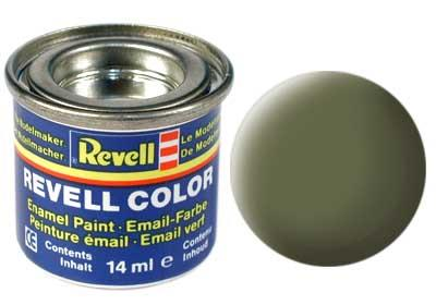 (68) - Dark green mat - 14 ml - Revell