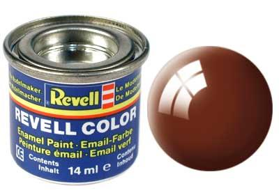 (80) - Mud brown gloss (RAL 8003) - 14 ml - Revell