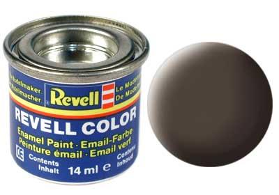 (84) - Leather brown mat (RAL 8027) - 14 ml - Revell