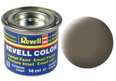(86) - Olive brown mat (RAL 7008) - 14 ml - Revell