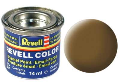 (87) - Earth brown mat (RAL 7006) - 14 ml - Revell