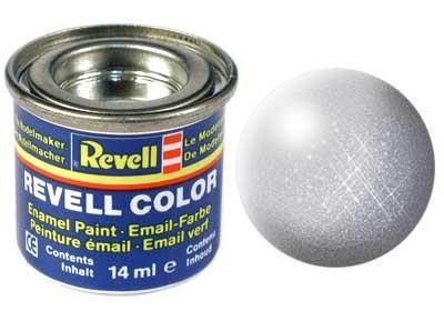 (90) - Silver metallic - 14 ml - Revell