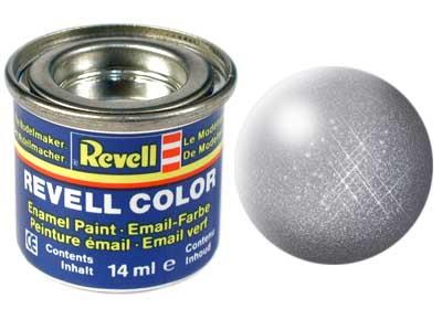 (91) - Steel metallic - 14 ml - Revell
