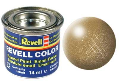 (92) - Brass metallic - 14 ml - Revell