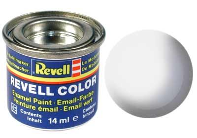 (301) - White silk mat (RAL 9010) - 14 ml - Revell