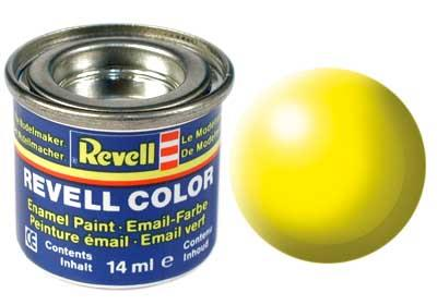 (312) - Luminous yellow silk mat (RAL 1026) - 14 ml - Revell