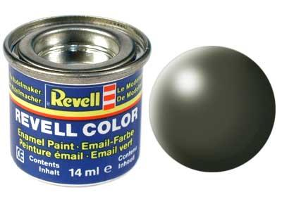 (361) - Olive green silk mat (RAL 6003) - 14 ml - Revell