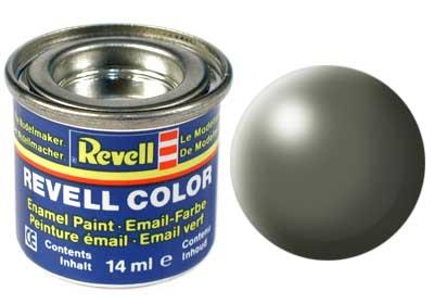 (362) - Greyish green silk mat (RAL 6013) - 14 ml - Revell