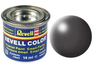 (378) - Dark grey silk mat (RAL 7012) - 14 ml - Revell