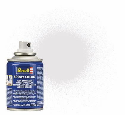 (02) - Spray Color, Clear mat (Farveløs, mat) - 100 ml - Revell