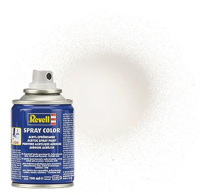 (04) - Spray Color, White gloss (RAL 9010) - 100 ml - Revell