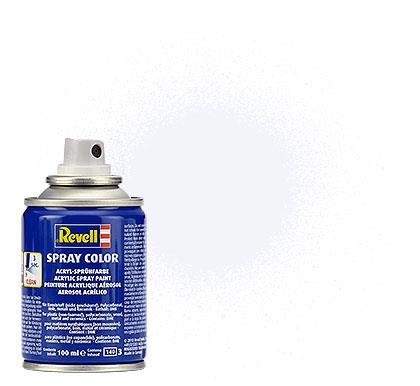 (05) - Spray Color, White mat (RAL 9001) - 100 ml - Revell
