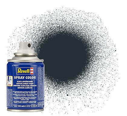 (09) - Spray Color, Anthracite mat (RAL 7021) - 100 ml - Revell