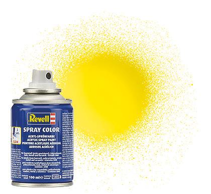 (12) - Spray Color, Yellow gloss (RAL 1018) - 100 ml - Revell