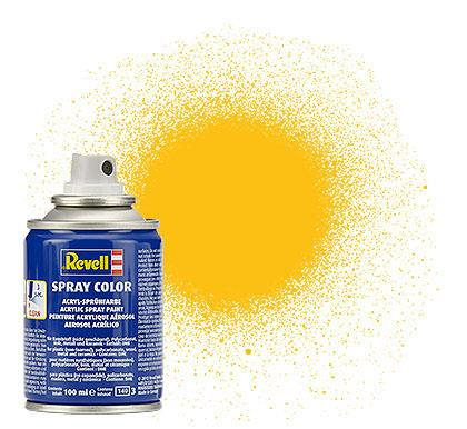 (15) - Spray Color, Yellow mat (RAL 1017) - 100 ml - Revell