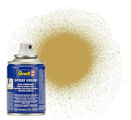 (16) - Spray Color, Sandy yellow mat (RAL 1024) - 100 ml - Revell