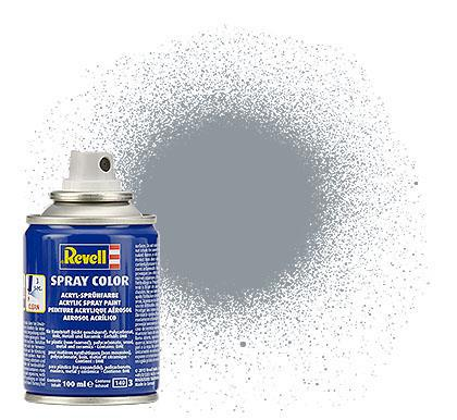 (91) - Spray Color, Steel metallic - 100 ml - Revell
