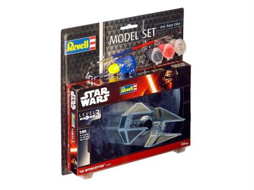 STAR WARS TIE Interceptor - 1:90 - Model-set - Revell