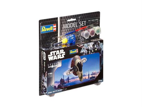 STAR WARS Boba Fett's Slave I - 1:160 - Model-set - Revell