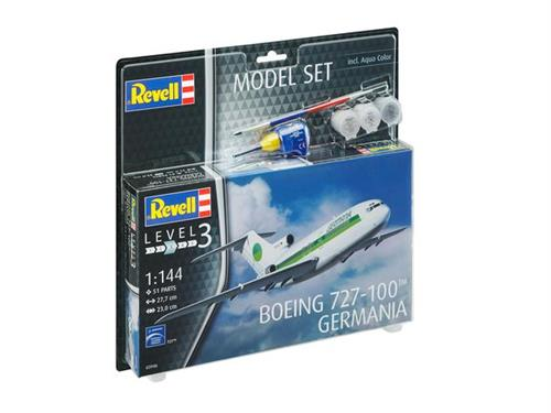 "Boeing 727-100 ""Germania"" - 1:144 - Model-set - Revell"