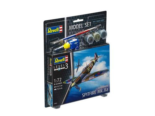 Supermarine Spitfire Mk.IIa - 1:72 - Model-set - Revell
