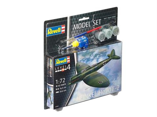 Heinkel He70 F-2 - 1:72 - Model-set - Revell