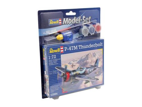 P-47 M Thunderbolt- 1:72 - Model-set - Revell