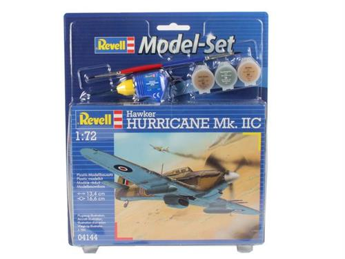Hawker Hurricane Mk. II C - 1:72 - Model-set - Revell