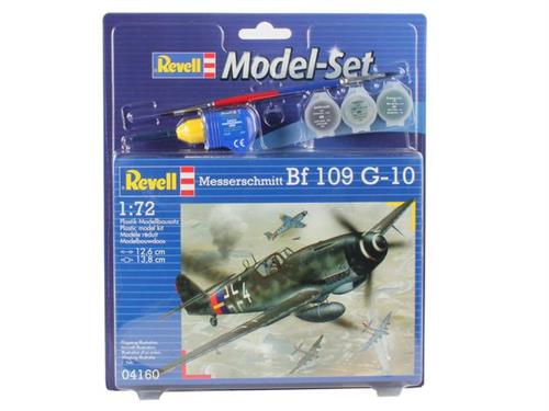 Messerschmitt Bf 109 G-10 - 1:72 - Model-set - Revell