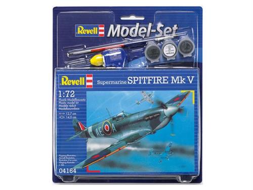 Supermarine Spitfire Mk V b - 1:72 - Model-set - Revell