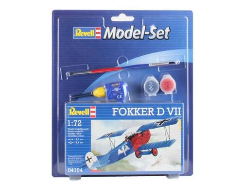 Fokker D VII - 1:72 - Model-set - Revell