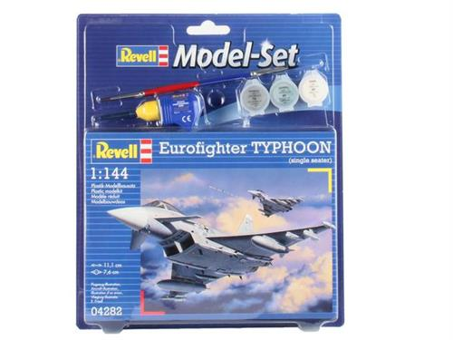 Eurofighter Typhoon (single seater) - 1:144 - Model-set - Revell
