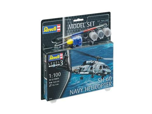 SH-60 Navy Helicopter - 1:100 - Model-set - Revell