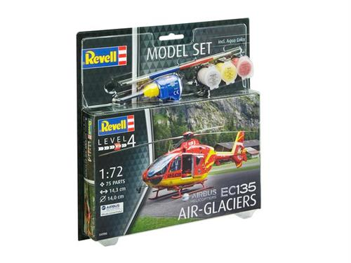 Airbus Helicopters EC135 AIR-GLACIERS - 1:72 - Model-set - Revell (Udsolgt fra fabrik)