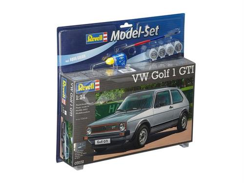 VW Golf 1 GTI - 1:24 - Model-set - Revell